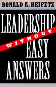 Leadership Without Easy Answers Cover